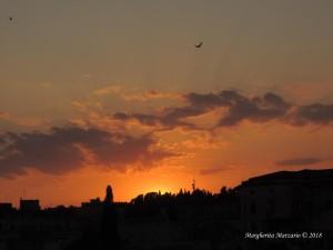 Un tramonto suggestivo